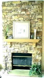 stone fireplace rock surround parts gas