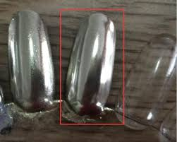 vamp silver chrome pigment nz nail