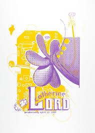Catherine Lord poster by Anita Lozinska, Sharon Cardinal | CalArts ...