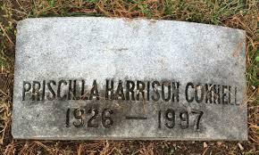 Priscilla Agnes Harrison Connell (1926-1997) - Find A Grave Memorial