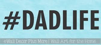 Truck Car Decal Tumbler Tablet Dad Life Hashtag Best Fathers Day Gift