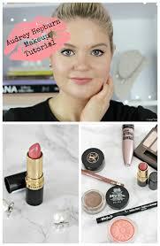 makeup look inspired by audrey hepburn