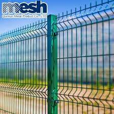 China Pvc Painted 3d Welded Wire Mesh Fence Sizes On Sale China Welded Steel Fence Panels And 3d Mesh Fence Price