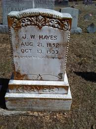 James Wesley Hayes (1852-1933) - Find A Grave Memorial