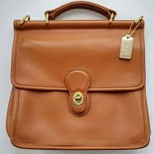 how to re a vintage coach bag a