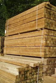 Square Sawn Posts Tanalised Fence Posts Sizes 75mm And 100mm