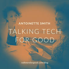Talking Tech for Good: Antoinette Smith, Glitch and Techquity   Software  for Good