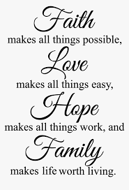 faith makes all things possible wall decal religious png