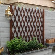 Wooden Fence Wooden Fence Telescopic Anticorrosive Wood Carbonized Balcony Decoration Wooden Fence Partition Indoor Pet Climbing