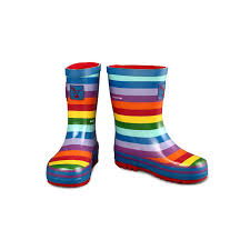 Kids Rainbow Wellies