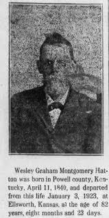 Wesley Graham Montgomery Hatton (1839-1923) - Find A Grave Memorial