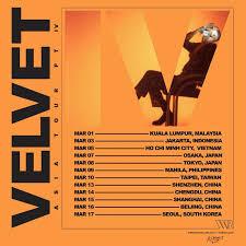 JMSN Velvet Asia Tour - Live in Seoul - Giglife