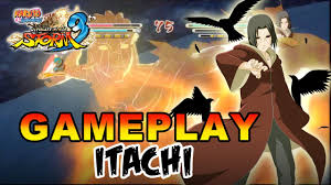 Naruto Shippuden Ultimate Ninja Storm 3 - X360 / PS3 - Itachi Gameplay -  YouTube