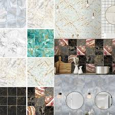Self Adhesive Wall Tiles Subway Wall Tiles Pack Of 10 90pcs Kitchen Bathroom Floor Sticker Vinyl Decal Decor Walmart Com Walmart Com