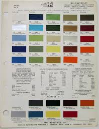 sf 3379 1955 chevy paint colors