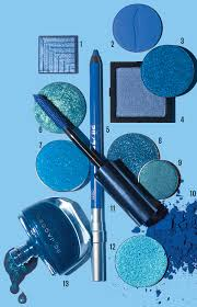 13 blue makeup s to try this season