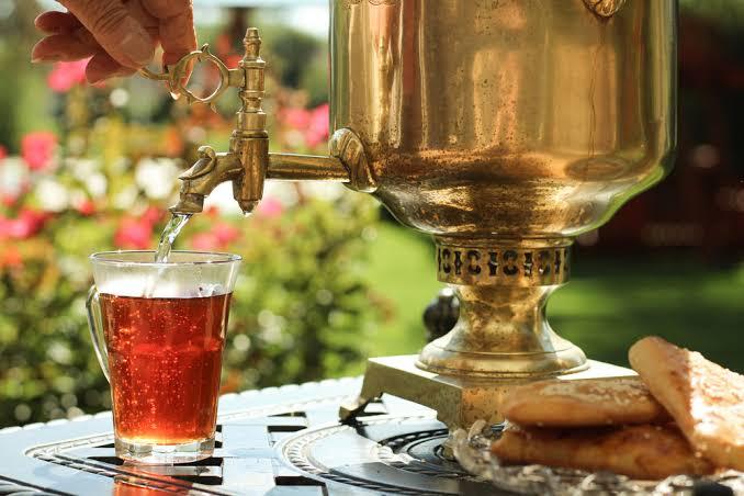 Passpod, Teh Rusia, Teh di dunia, Tradisi minum teh