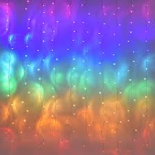 Amazon Com Fairy Lights Led Curtain Lights Color String Lights For Bedroom Wall Boho Dorm Rainbow Unicorn Room Decor For Teen Girls Kids Wedding Birthday Christmas Party Decorations Icicle Twinkle Home Improvement
