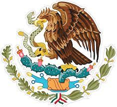 Amazon Com Eichelman Designs 5 Pack Mexican Coat Of Arms Sticker Decal Mexico Flag Car Truck Vinyl 4 X 3 75 Automotive