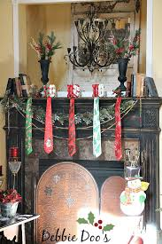 christmas mantel decorating ideas from