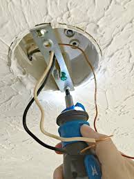 how to replace overhead light fixtures