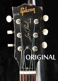 Gibson Waterslide Headstock Decal Les Paul Es 125 Es 335 Es 175 Vintage Guitar Parts Vintageguitars Gibson Waterslide Headstock Decal Les Paul Es Winterrezepte