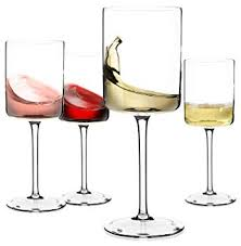 large red wine or white wine glass
