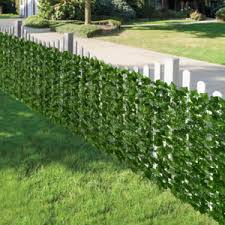 Artificial Ivy Privacy Fence Screen Artificial Hedges Fence And Faux I Hihaej