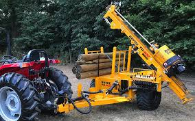 Bryce Suma Trailed Post Driver Brings Hammer Muscle To Smaller Tractors Whats New In Farming