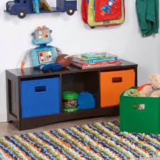 Pete Kids Toy Storage Bench Joss Main