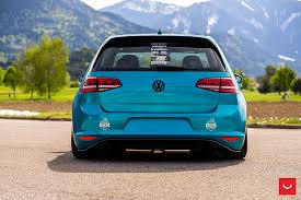 hd wallpaper golf gti mk7 rear