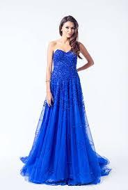 navy blue royal blue dress