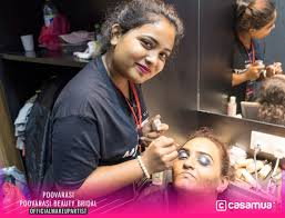 dengkil indian bridal poovarasi beauty