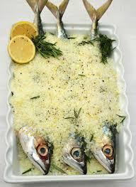 Mackerel Baked in Lemon flavored Salt ...