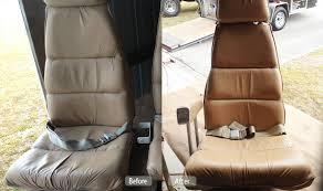 airplane seat leather seat redye fibrenew