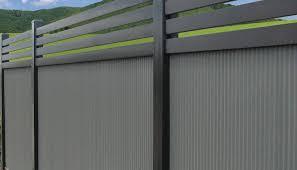 Bluescope Steel Corrugated Metal Fence Fence Covered Pergola
