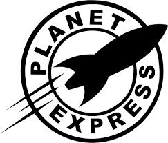 Futurama Planet Express Vinyl Car Window Laptop Decal Sticker Decal Gremlins
