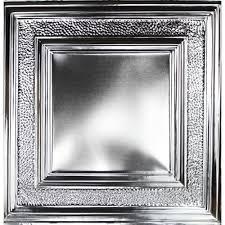 tin metal ceiling tile eccentric mirror