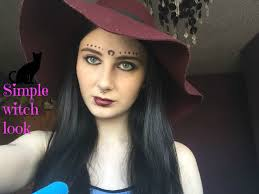 simple witch makeup step by step