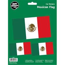 Decalcomania 10062 Mexican Flag Decal Stickers Walmart Com Walmart Com