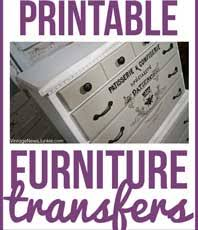 10 Best Printable Transfers For Furniture Free The Graphics Fairy