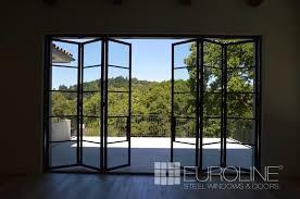 custom exterior steel bifold doors