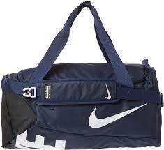 nike polyester duffle bag for men blue