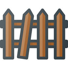 Broken Fence Icon Free Download On Iconfinder