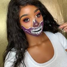 half skull makeup tutorial chiara