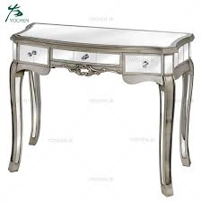 square solid wood mdf silver mirrored
