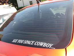 Cowboy Bebop See You Space Cowboy Decal Sweet Graffix See You Space Cowboy Space Cowboys Your Space