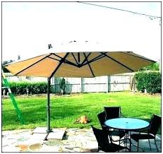 outdoor umbrella replacement canopy
