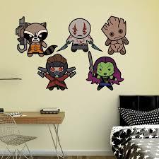 Fathead Guardians Of The Galaxy Kawaii Wall Decal Collection Walmart Com Walmart Com