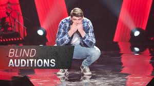 The Blind Auditions: Josh Pywell sings ...